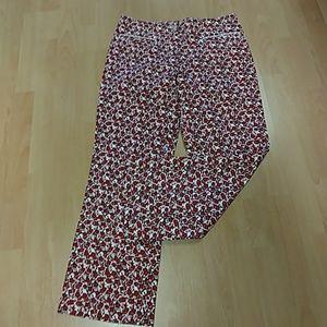 Etcetera Printed Crop Pants